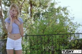 Анал на большом члене с красоткой Hime Marie