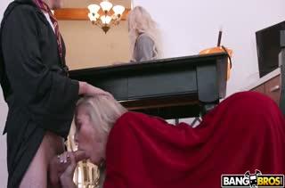 Похотливая Brandi Love трахнула бойфренда своей дочери
