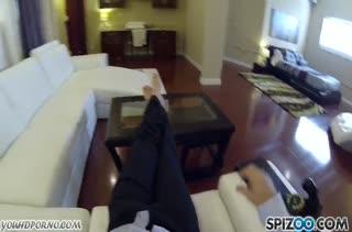 Сисястую Summer Brielle смачно прут перед камерой