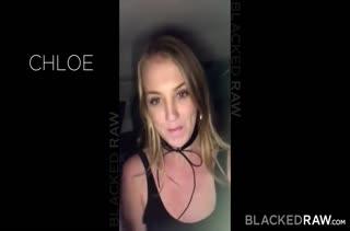 Chloe Scott перед камерой кувыркается с черным любовником
